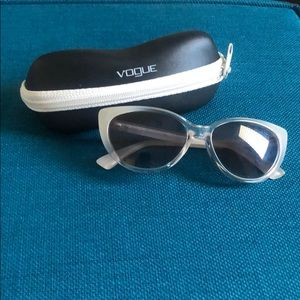 Vogue Sunglasses VO 2677-S in Clear White frame